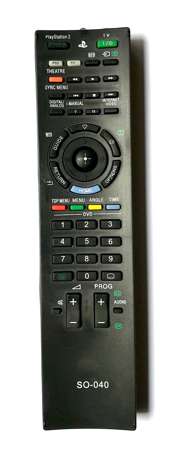 TV Sony Remote Control Replacement SO-40 for Sony Playstation