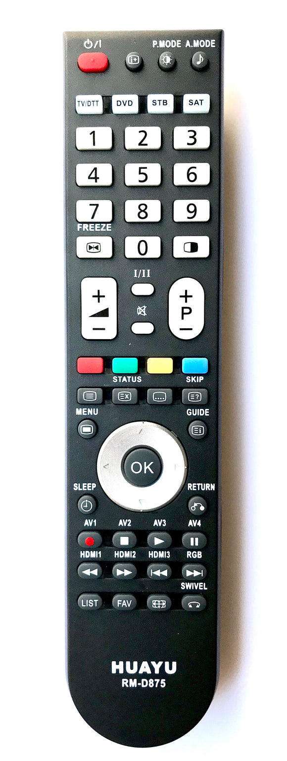 TV Hitachi Remote Control Replacement for Hitachi TV CLE-984 Sub CLE-993