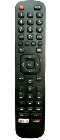 TV Replacement Remote Control EN2B27 for TV Smart Hisense 32K3110W Universal remote control replacement uk