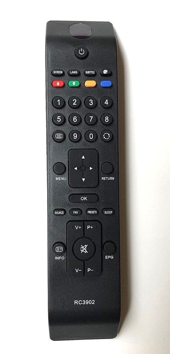 TV Hitachi Remote Control Replacement for RC3902 for TV HITACHI