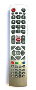 TV Sharp Remote Control Replacement SHWRMC0121 for Sharp Aquos Smart Netflix Freeview