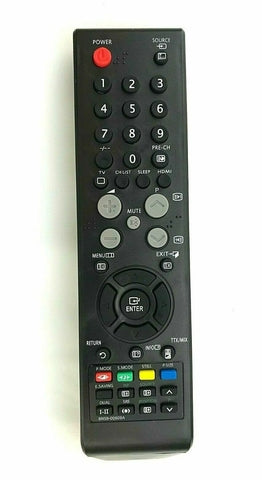 TV Samsung Remote Control Replacement for Samsung BN59-00609A - BN5900609A