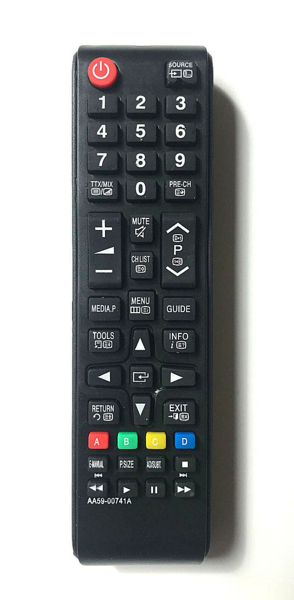 TV Samsung Remote Control Replacement for Samsung AA5900741A AA59-00741A
