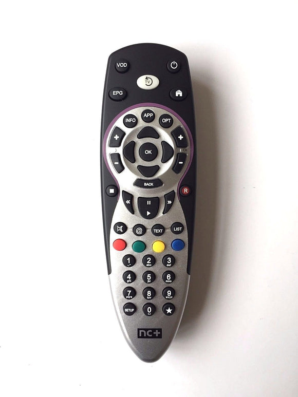 TV Remote Control for nBox, Box+ Recorder MediaBOX+ UltraBOX+ TurboBOX NC+ Uniwersal