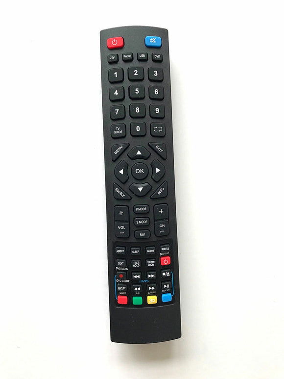 New Replacement Remote Control for Bush 32/233F HD USB PVR DVD FREEVIEW LED TV perfect remote uk shop