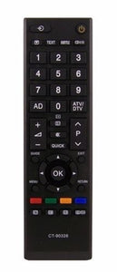 New Replacement Remote Control TOSHIBA CT-90326 CT90326 Perfect Remote shop UK.
