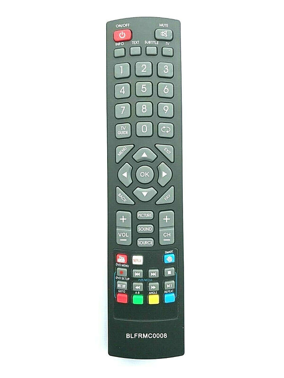 New Replacement Remote Control Blaupunkt Smart TV 43/134M-GB-11B-FEGUX uk perfectremote shop