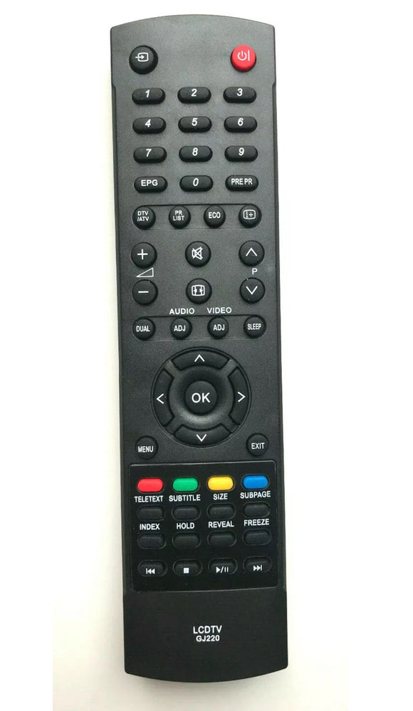 TV Sharp Remote Control Replacement GJ220 perfect remote uk shop