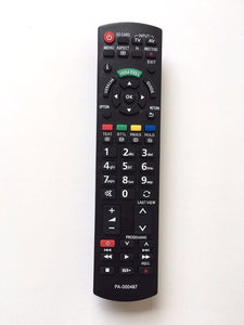 TV Panasonic Remote Control Replacement for PANASONIC N2QAYB000487 N2QAYB000328