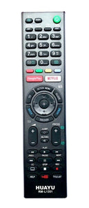 TV Sony Remote Control Replacement for Sony RMF-TX300E RMFTX300E Netflix Google Play