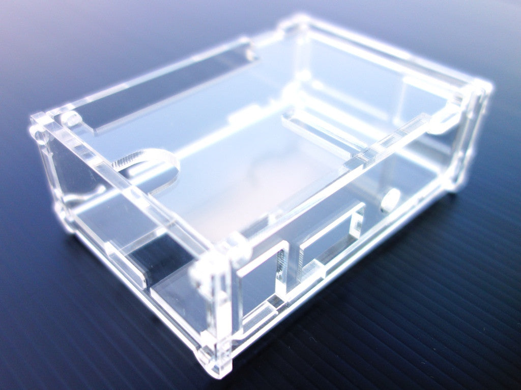 Acrylic Case for RemotePi Board for Pi 3B+, Pi 3B, Pi 2B and Pi 1B+