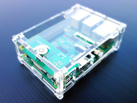 Acrylic Case for RemotePi Board for Pi 3, Pi 2 and B+