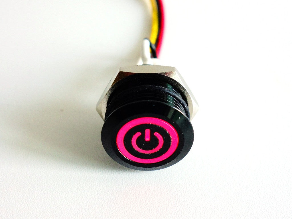 External Illuminated Pushbutton for RemotePi Board