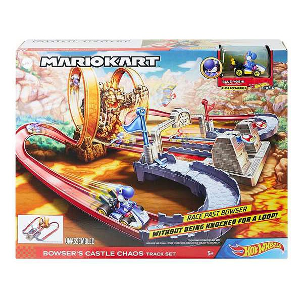 Baan Lanceerder Mario Kart Hot Wheels