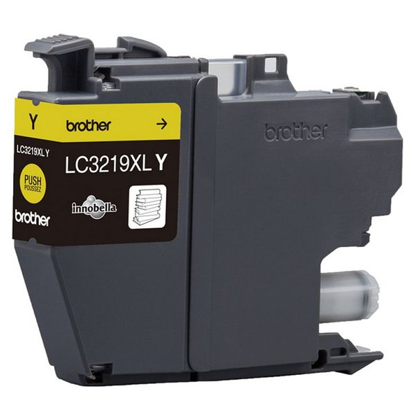 Originele inkt cartridge Brother LC3219XLY Geel