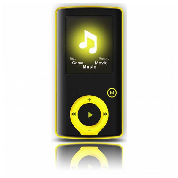 "MP3 player BRIGMTON BPA-81-Y 1.8"" 8 GB Geel"