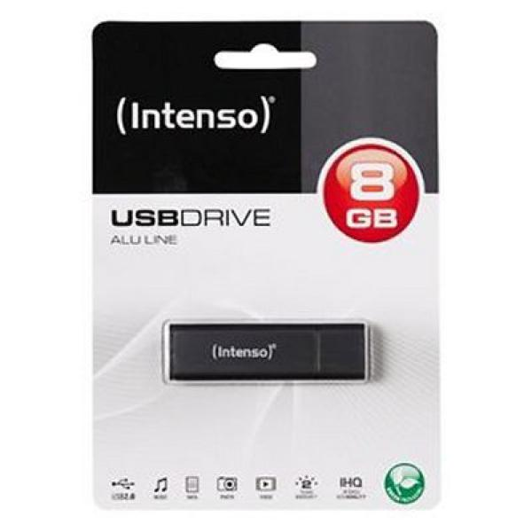 USB stick INTENSO 3521461 8 GB Antraciet