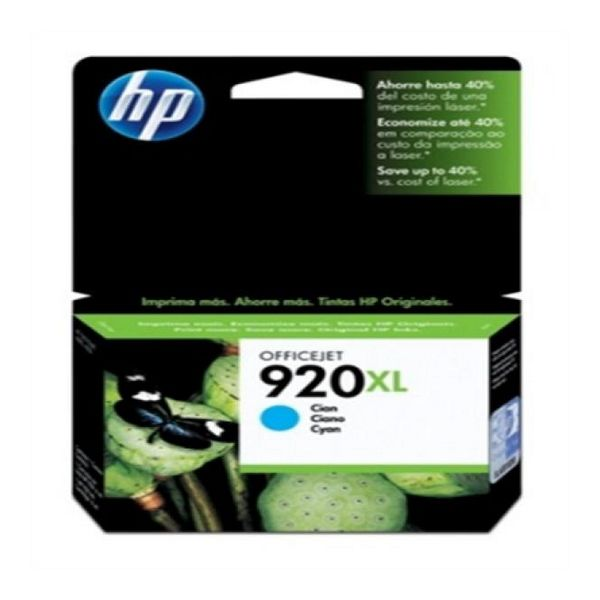 Originele inkt cartridge Hewlett Packard CD972AE Cyaan