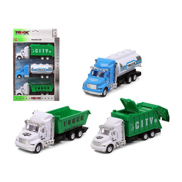 Set auto's City Truck 119282 (3 uds)