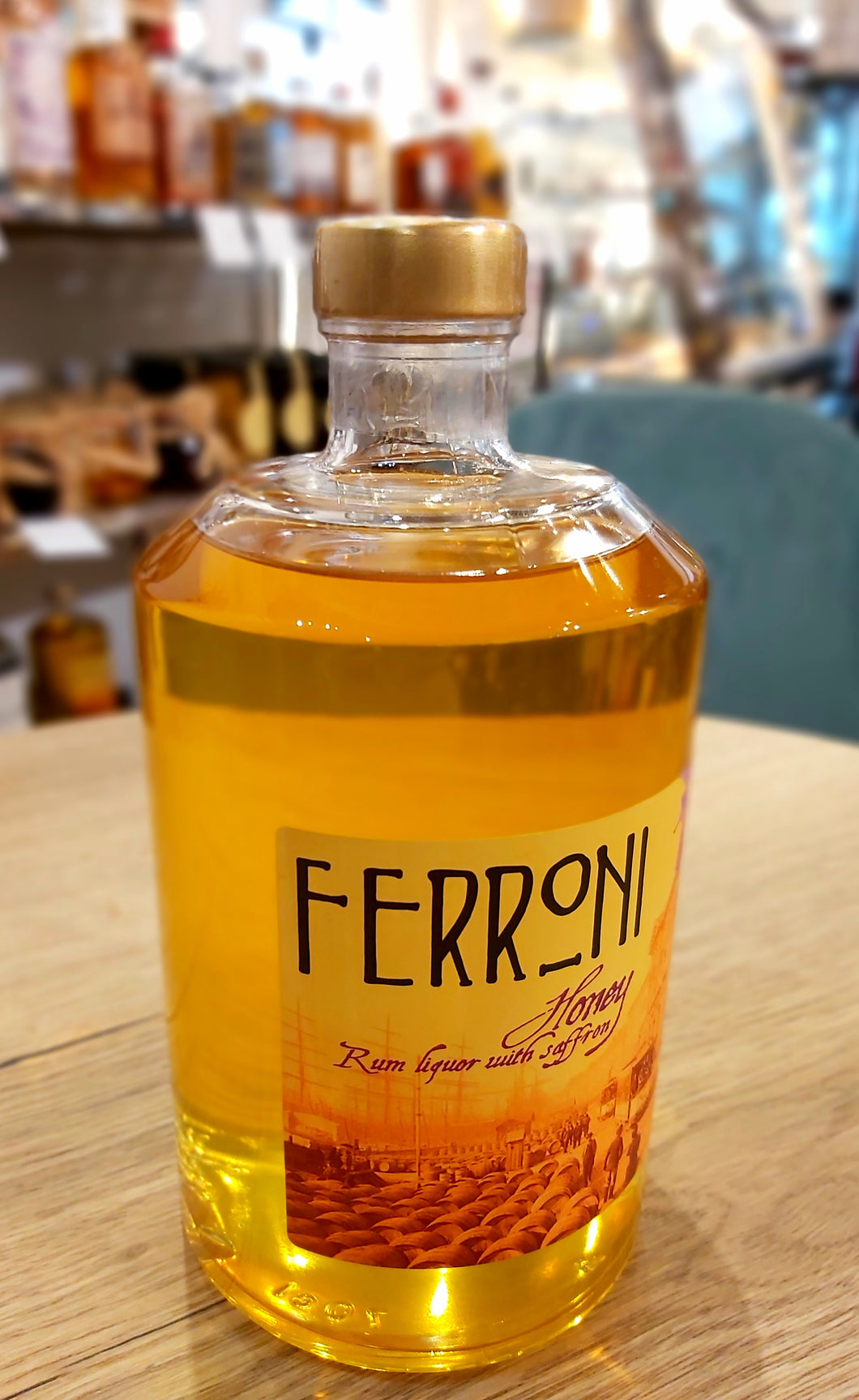 Rhum honey Ferroni 70cl