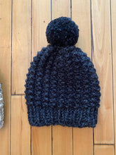 Load image into Gallery viewer, Hand knit Pom beanie winter hats