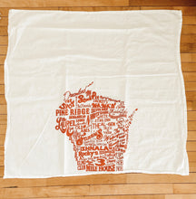 Load image into Gallery viewer, Wisconsin Theme Tea Towels