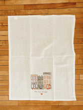 Load image into Gallery viewer, Small Town Big Heart Tea Towel