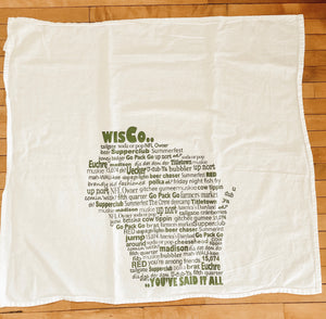 Wisconsin Theme Tea Towels