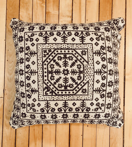 Boho Black Patterned Pillows