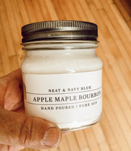 Load image into Gallery viewer, Apple Maple Bourbon Hand Poured Soy Candle