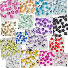 Rhinestones 4mm Flower - 1000 or 5000 pieces
