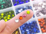 Hot Fix Rhinestones SS20 (5mm) Mixed Color in Storage Box Set (M03)