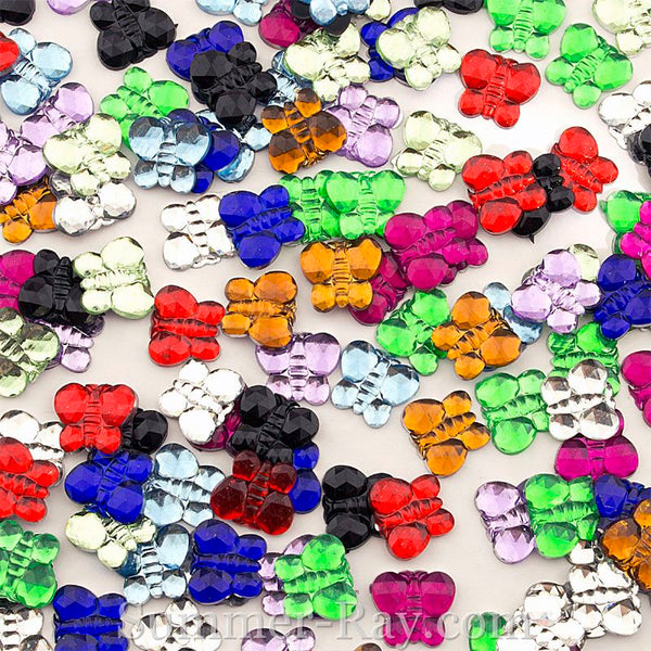 Jewels Butterfly 10mm - 500 or 1000 pieces