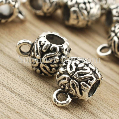 Tibetan Silver Spacer Beads (T11529) - 25 pieces