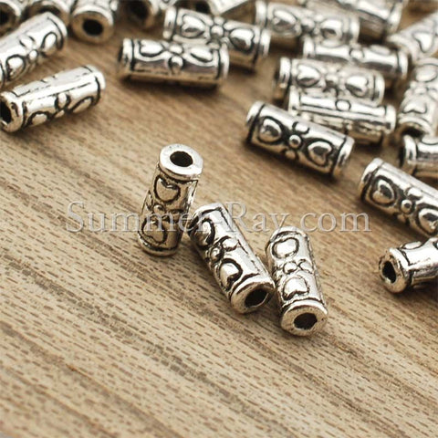 Tibetan Silver Spacer Beads (T1058) - 100 pieces