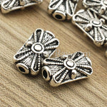 Tibetan Silver Spacer Beads (T11347) - 50 pieces