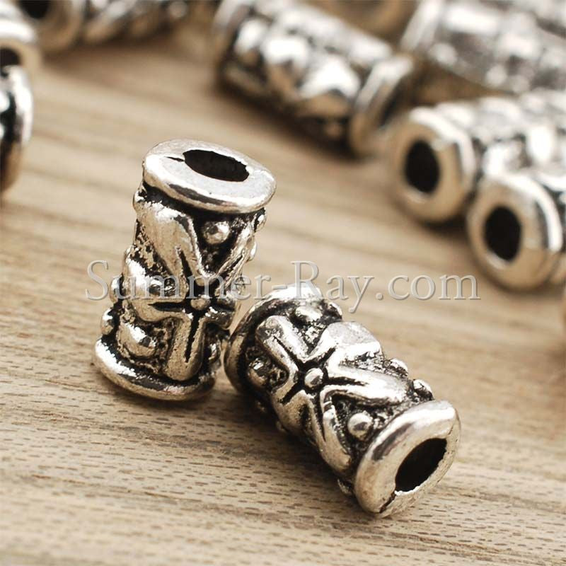 Tibetan Silver Spacer Beads (T983)