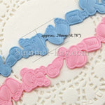 Applique Baby Shower Trim Ribbon 20 mm - Design II