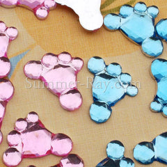 Jewels Baby Feet 10mm - 200, 2000 or 5000 pieces