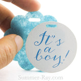 It's a Boy Baby Shower Gift Tags