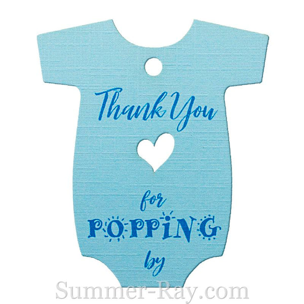 Baby Onesie Baby Shower Thank You Gift Tags Summer Ray Com