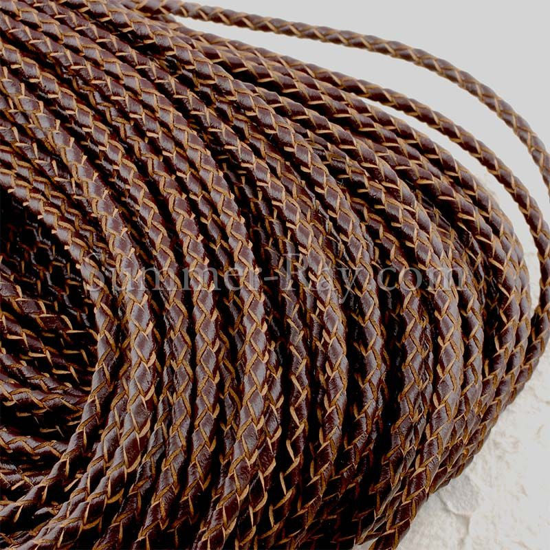 Braided Leather Cord Strings