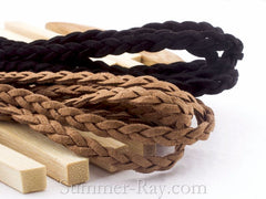 Braided Micro Suede Cord String