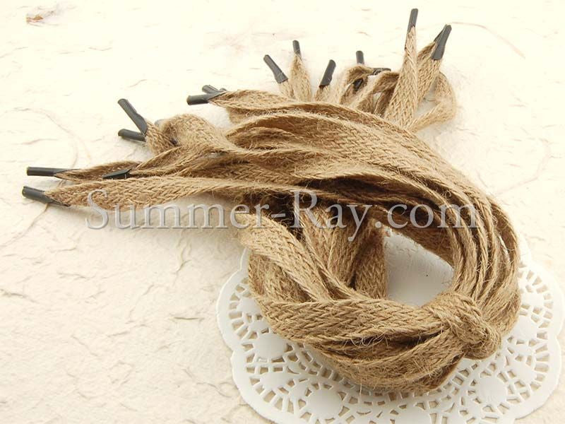 Natural Jute Burlap Laces