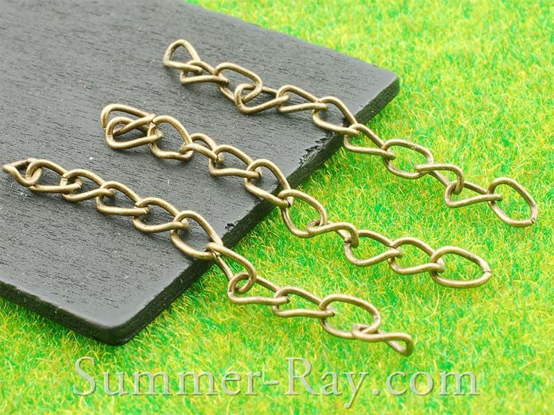 Antique Brass Chain Extension