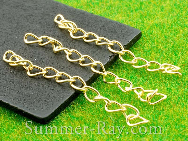 Gold Plated Chain Extension