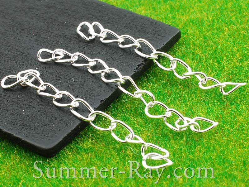 Silver Plated Chain Extension