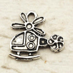 Tibetan Silver Helicopter Charm Pendant