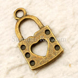 Tibetan Antique Bronze Ladies Handbag Charm Pendant