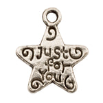 Tibetan Silver Just-for-You Star Charm Pendant